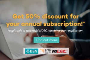 financio MDEC matching grant